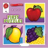 A Set of 3 First Puzzles: Fruits