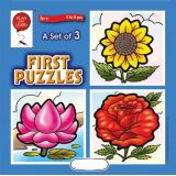 A Set of 3 First Puzzles: Flowers