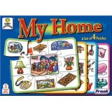 My Home, Set of 4 puzzles