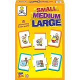 Small, Medium, Large, 10 self-correcting 3-piece puzzles