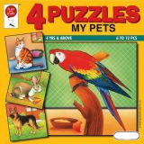 4 Puzzles: My Pets