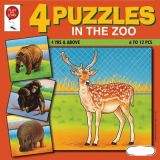 4 Puzzles: In The Zoo