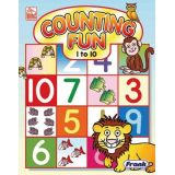 Counting Fun 1 to 10 Preschool Book