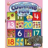 Counting Fun 1 to 20 Preschool Book