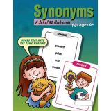 Synonyms Flash Cards