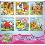 6 in 1 Cube Puzzles, Animals
