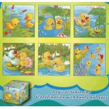6 in 1 Cube Puzzles, Ducks