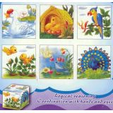 6 in 1 Cube Puzzles, Birds