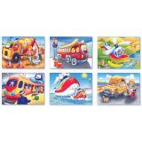 6 in 1 Cube Puzzles, Transportation