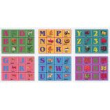 6 in 1 Cube Puzzles, ABC & 123