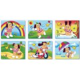 6 in 1 Cube Puzzles, Puppy Days