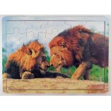 Lion Brothers 25 Piece Jigsaw Puzzle