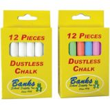 Banks Dustles Chalk, White