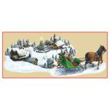 Holiday Village & Sleigh Ride Holiday Prop