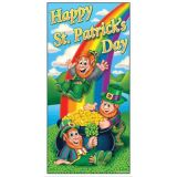 Happy St. Patrick's Day Door Cover