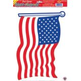 American Flag Cling