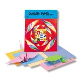 Origami Paper, 55 assorted sheets, 5 7/8 x 5 7/8
