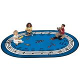 Musical Rug, 8'3 x 11'8, seats 24-30 children