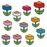 Colorful Cut-Outs, Flowers