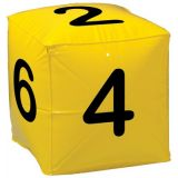 Inflatable Number Cubes