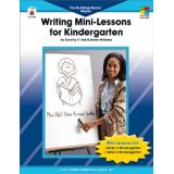 Writing Mini-Lessons, Kindergarten
