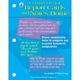 Comments for Report Cards and Notes Going Home