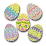 Dazzle™ Stickers Super Packs, Easter Eggs