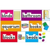 Print-Rich Classroom Labels, English