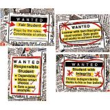 Wanted: Good Character Bulletin Board Set