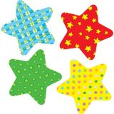 Fun Stars Colorful Cut-Outs, Assorted Design