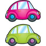 Cars Colorful Cut-Outs, Assorted Design