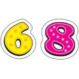 Shape Stickers, Numbers (120)