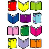 Colorful Cut-Outs, Books