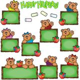 Happy Helper Bears Job Assignment Bulletin Board Set