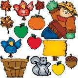 Harvest Hank Bulletin Board Set