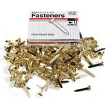 Brass Paper Fasteners, 1 1/2