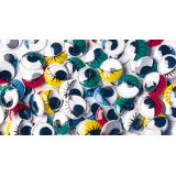 Painted Eyes, 100 Pieces