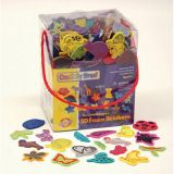 WonderFoam Peel & Stick 3D Foam Sticker Box, Whimsical Shapes