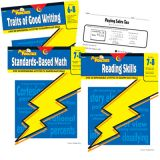 Power Practice™ Middle School Basic Skills Variety Pack, Grades 6-8