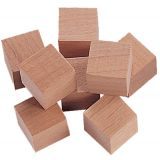 Hardwood Counting Cubes