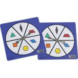 Pattern Block Spinners