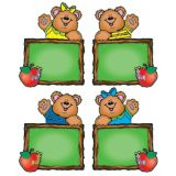 Colorful Cut-Outs, Chalkboard Bears