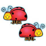 Colorful Cut-Outs, Ladybugs, Assorted designs