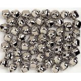 Jingle Bells, 3/8, Silver, 144/pack
