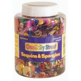 Cup Sequins, Assorted, 115 gm/pkg.