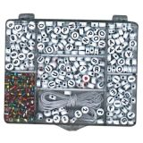Beadie Bead Kit, Black & White