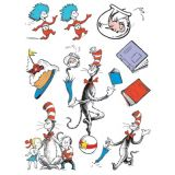 Cat in the Hat™ Characters Window Clings