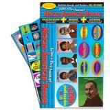 African American Heroes All-In-One Bulletin Board Set