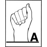 Alphabet Sign Language Cards
