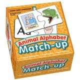Animal Alphabet Match-Up
